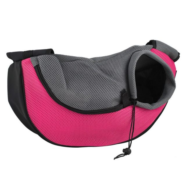 Colorful Travel Backpack with Adjustable Shoulder Straps for little Pets