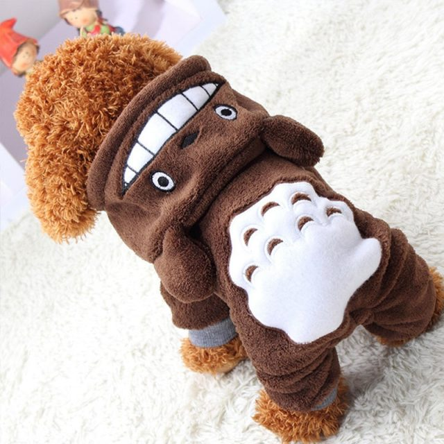 Fashion Warm & Comfortable Fleece Jumpsuit for Small Dogs