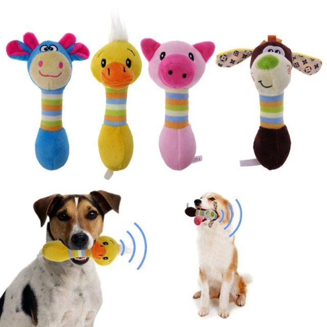 Lovely Animal Shaped Plush Dog's Toy