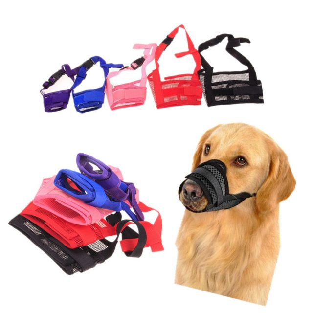 Breathable Polyester Mesh Dog'sMuzzle
