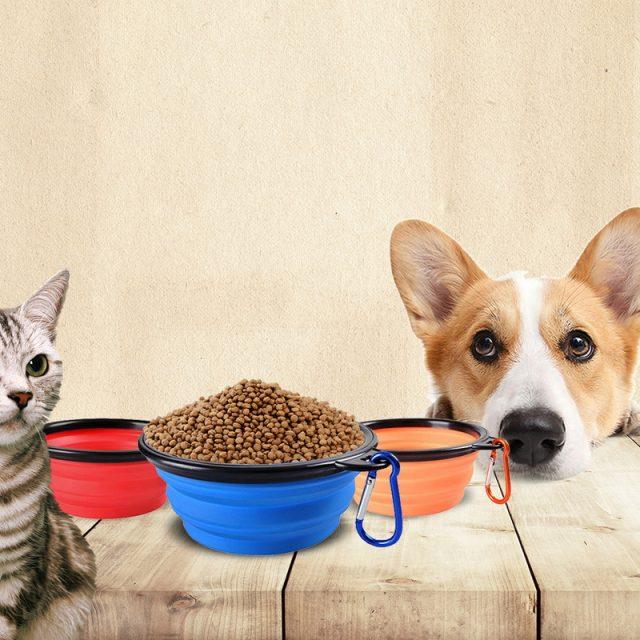 Folding Silicone Pet Bowl