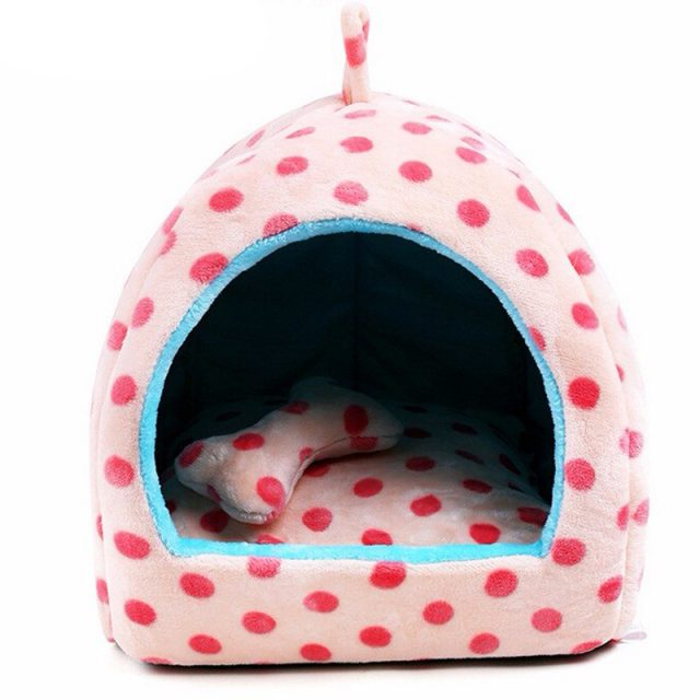 Dotted Dog House Set