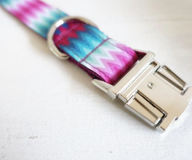 Colorful Dog Collar and Leash Sets